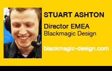 2012 NAB Show - Stuart Ashton, Blackmagic Design