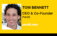 2012 NAB Show - Tom Bennett, Pond5
