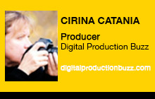 2012 NAB Show - Cirina Catania, Digital Production Buzz
