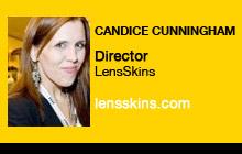2011 NAB Show - Candice Cunningham, LensSkins
