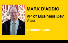 2012 NAB Show - Mark D'Addio, Vitec