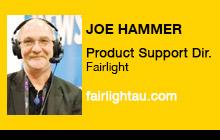 2012 NAB Show - Joe Hammer, Fairlight