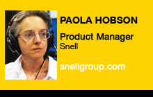 2011 NAB Show - Paola Hobson, Snell