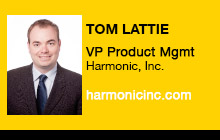 2012 NAB Show - Tom Lattie, Harmonic, Inc.