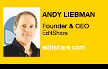 2012 NAB Show, Andy Liebman, EditShare