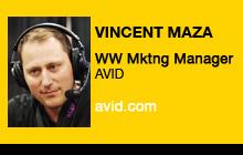 2011 NAB Show - Vincent Maza, AVID