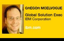 2012 NAB Show - Gregor McElvogue, IBM Corporation
