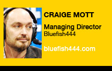 2011 NAB Show - Craige Mott, Bluefish444