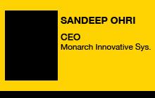 2011 GV Expo - Sandeep Ohri, Monarch Innovative Systems
