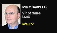 Digital Production - Mike Savello, LiveU