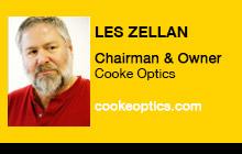 2012 NAB Show - Les Zellan, Cooke Optics