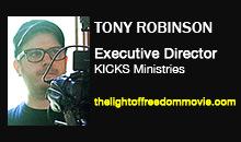 Tony Robinson, KICKS Ministries