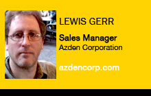 Lewis Gerr, Azden Corporation