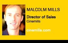 Malcolm Mills, Cinemills