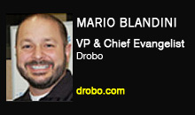 Mario Blandini, Drobo