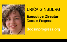 Erica Ginsberg, Docs in Progress