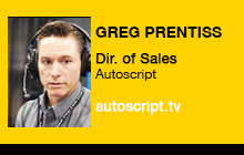 2011 NAB Show - Greg Prentiss, Autoscript
