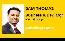2011 DV Expo - Sam Thomas, Vitec Group/Petrol Bags