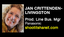 Digital Production Buzz - Jan Crittenden-Livingston, Panasonic