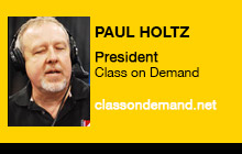 2012 NAB Show - Paul Holtz, Class On Demand