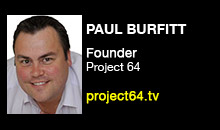 Digital Production Buzz - Paul Burfitt, Project 64