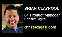 Digital Production Buzz - Brian Claypool, Christie Digital Systems, Inc.