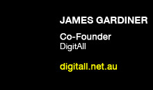 Digital Production Buzz - James Gardiner, DigitAll