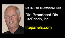 Digital Production Buzz - Patrick Grosswendt, LitePanels, Inc.