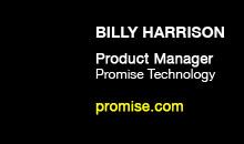 Digital Production Buzz - Billy Harrison, Promise Technology