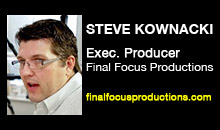 Digital Production Buzz - Steve Kownacki, Final Focus Productions