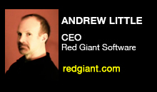 Digital Production Buzz - Andrew Little, Red Giant Software