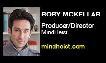 Digital Production Buzz - Rory McKellar, MindHeist