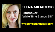 "Digital Production Buzz - Elena Miliaresis, ""While Time Stands Still"""