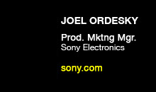 Digital Production Buzz - Joel Ordesky, Sony Electronics