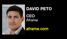 Digital Production Buzz - David Peto, Aframe