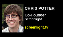 Digital Production Buzz - Chris Potter, Screenlight