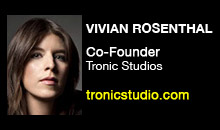 Digital Production Buzz - Vivian Rosenthal, Tronic Studios