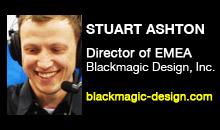 Digital Production Buzz - Stuart Ashton, Blackmagic Design, Inc.