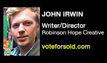 Digital Production Buzz - John Irwin, Robinson Hope Creative