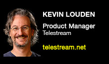 Digital Production Buzz - Kevin Louden, Telestream