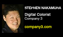 Digital Production Buzz - Stephen Nakamura, Company 3
