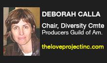 Deborah Calla, Producers Guild of America, Diversity Committee
