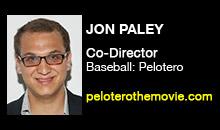 Digital Production Buzz - Jon Paley, Baseball: Pelotero