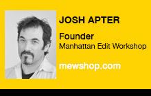 2012 NAB Show - Josh Apter, Manhattan Edit Workshop