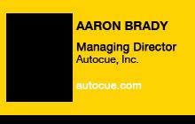 2010 GV Expo - Aaron Brady, Autocue, Inc.