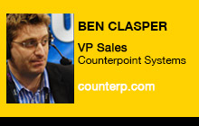 2012 NAB Show, Ben Clasper, Counterpoint Systems