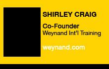 2011 DV Expo - Shirley Craig, Weynand International Training
