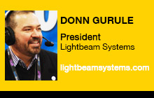 2011 NAB Show - Donn Gurule, Lightbeam Systems