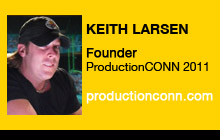 2011 NAB Show - Keith Larsen, ProductionCONN 2011