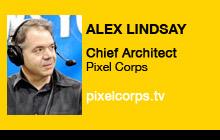 2011 NAB Show - Alex Lindsay, Pixel Corps